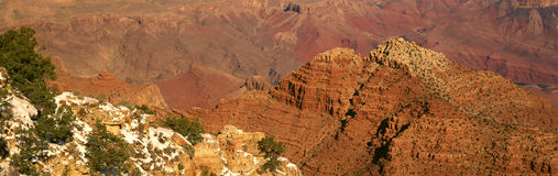 South Rim Of The Grand Canyon, Royalty Free Stock Photography