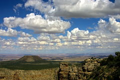 South Rim at Grand Canyon. Panoramic view from South Rim at Grand Canyon National Park Royalty Free Stock Photos