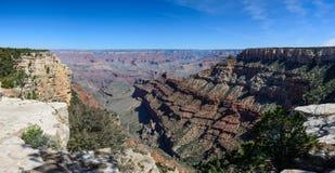 South Rim of Grand Canyon in Arizona. Panaramic view of South Rim of Grand Canyon in Arizona, USA Stock Image