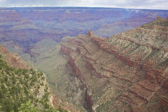 South Rim Grand Canyon Landscape Stock Photos