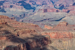 South Rim Grand Canyon Landscape Royalty Free Stock Images