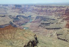 South Rim in Grand Canyon National Park. Arizona Royalty Free Stock Photography