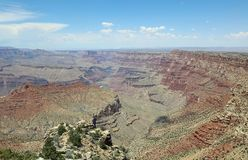 South Rim in Grand Canyon National Park Stock Image