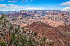 South Rim Grand Canyon Scenic Landscape Royalty Free Stock Photography