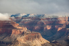 South Rim Scenic Winter Landscape Royalty Free Stock Images