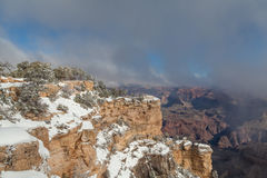 South Rim Winter Beauty Royalty Free Stock Images