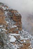 South Rim Winter Landscape Royalty Free Stock Images
