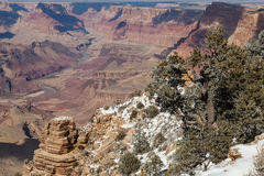 South Rim Winter Stock Images