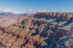 South Rim in Winter Stock Photo