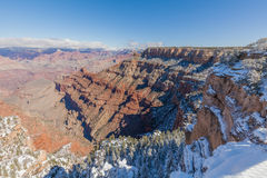South Rim Winter Royalty Free Stock Images