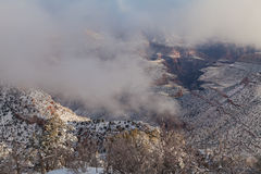 South Rim Winter Storm Royalty Free Stock Photography