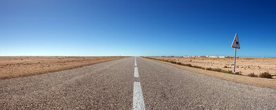 The south road in Morocco Stock Photography