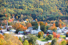 South Royalton in autumn time Stock Photos
