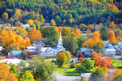South Royalton, Vermont in autumn time Royalty Free Stock Photos
