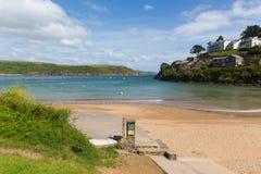 South sands beach Salcombe Devon UK in the estuary in summer Stock Image