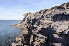 South Sardinia cliff Stock Image