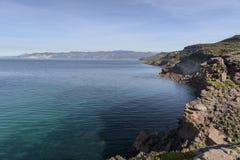 South Sardinia cliff Royalty Free Stock Photos