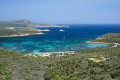 South Sardinia. Malfatano beach and coast of South Sardinia, Italy Stock Photography
