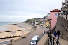 South seafront, Cromer. Royalty Free Stock Photography