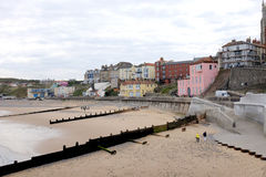 South seafront, Cromer. Royalty Free Stock Images