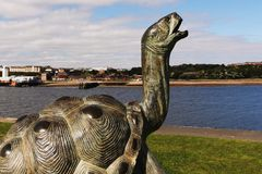 The South Shields Tortoise Royalty Free Stock Photos