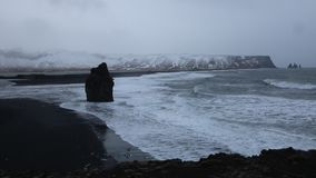 South shore of Iceland stock footage