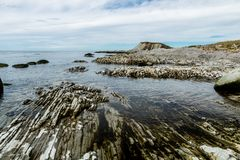 South side of Broom Point, Gros, Morne, Newfoundland, Canada stock photo
