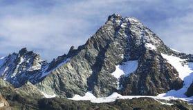 South side of Mount Grossglockner Stock Photo
