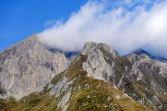 South side of Mount Grossglockner Royalty Free Stock Photography