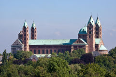 South side of the roman cathedral as Speyer, Germa Royalty Free Stock Photography