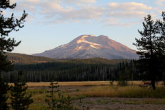 South sister - three sisters - cascades, OR, USA Stock Photos