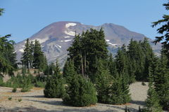 South sister - three sisters - cascades, OR, USA Royalty Free Stock Photo