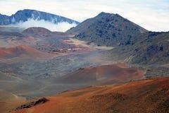 South slope of Haleakala NP Stock Photos