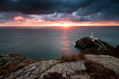 South Stack Stock Images