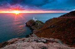 South Stack royalty free stock images