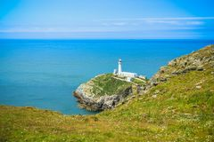 South Stack, Anglesey Wales stock images