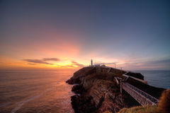 South Stack lighthouse Royalty Free Stock Photo