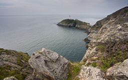 South stack lighthouse Royalty Free Stock Photography