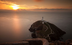 South Stack Lighthouse Stock Images