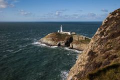 South Stack Lighthouse Royalty Free Stock Images