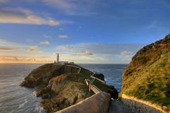 South Stack Lighthouse Stock Image