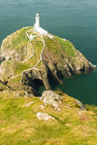 South Stack lighthouse, Anglesey Stock Photos
