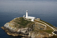 South Stack Lighthouse B Stock Photo