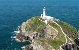 South Stack Lighthouse Royalty Free Stock Image