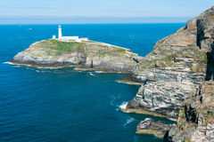 South Stack Lighthouse Royalty Free Stock Photos