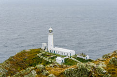 South Stack Lighthouse 001. South Stack Lighthouse Isle of Anglesey Royalty Free Stock Images