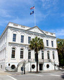 South State Bank, Charleston, SC. The South State Bank located on Broad Street in Charleston, SC royalty free stock photo
