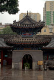 The South Stele Pavilion in Niujie Mosque, Beijing, China Stock Image
