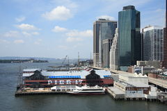 South Street Seaport Royalty Free Stock Image