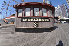 South street seaport Stock Photo